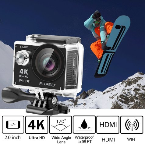 AKASO EK7000 4K WIFI Sports Action Camera _2