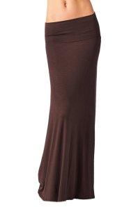 Azules Women_s Rayon Span Maxi Skirt_1
