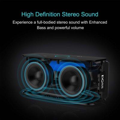 DOSS Touch Wireless Bluetooth V4.0 Portable Speaker _3