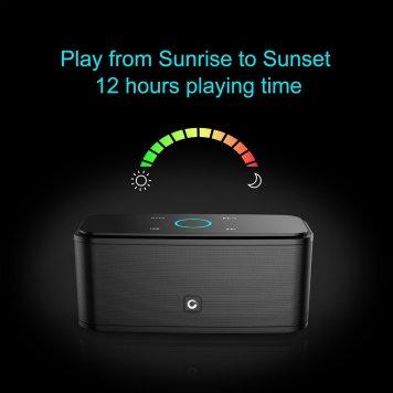 DOSS Touch Wireless Bluetooth V4.0 Portable Speaker_4