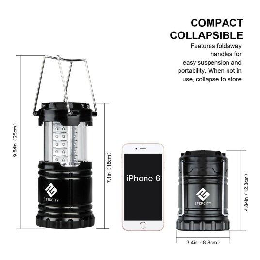 Etekcity 2 Pack Portable Outdoor LED Camping Lantern _2