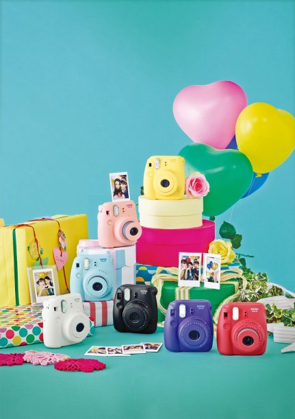Fujifilm Instax Mini 8 Instant Film Camera _4