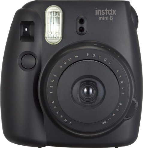 Fujifilm Instax Mini 8 Instant Film Camera (Black)_1