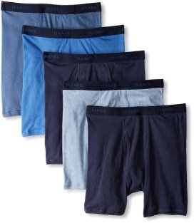 Hanes Men's 5-Pack Ultimate FreshIQ Boxer Brief_2