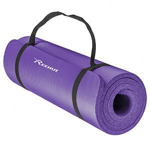 Reehut 1:2-Inch Extra Thick High Density NBR Exercise Yoga Mat_5