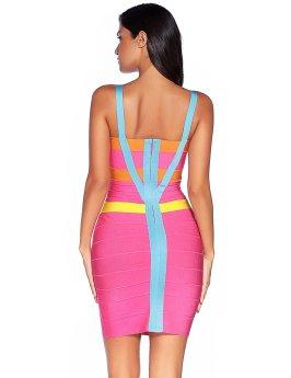 Strap Party Pencil Dress_2
