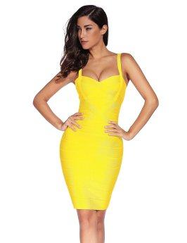 Strap Party Pencil Dress_4