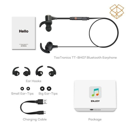 TaoTronics Bluetooth Headphone_1